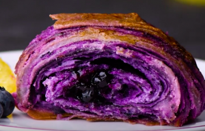 Blueberry Croissants