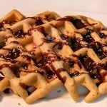 Funfetti waffle cookie