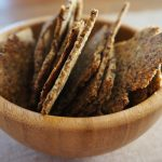 Easy Almond Pulp Crackers
